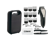 "Conair HCT21 3.2"" x 10"" x 6.2"" Cut N Detail Haircut Kit - 24 Piece"