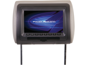 Power Acoustik Hdvd-71Cc 7In Univ Hdrst Mon W/Dvd
