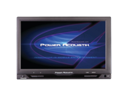 "POWER ACOUSTIK PT-712IRA 7"" Cut-In Widescreen Headrest Monitor with IR"