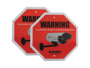 Security Man Sign2pk-En Srvllnce Warn Sign