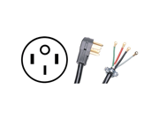 Petra 90-2080 4-wire Range Cord 50a (4 Ft)