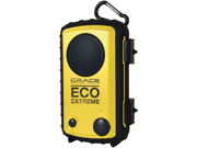 ECOXGEAR GDI-ACQSE104 EcoExtreme iPhone(R)/iPod(R) Rugged Waterproof Case with Built-in Speaker (Yellow)
