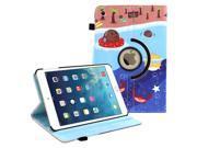 Portfolio 360 Robo Roku BUBBLE TEA SEA Leather Case Skin Cover for Apple Ipad Mini 1 2 3