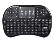 iClever IC-RF02 2.4G RF Mini Wireless Keyboard Mouse Touchpad For PC, Pad, Andriod TV Box, Google TV Box, Xbox360, PS3 & HTPC/IPTV