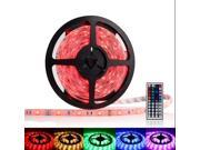 OxyLED Waterproof RGB LED Strip Light Kit (16.4ft, 300 LEDs, Color Changing RGB SMD 5050, Dimmable + 44-key Remote Control)