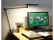 OxyLED Smart T4  Professional Architect Swing/Adjustable  Arm, stepless dimming touch control, Giant Eye-care 12W LED Desk Lamp 4000k Warm White, best for home office, art workshop,  showrooms, study