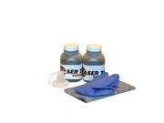 Laser Tek Services® 2 Pack Black Toner Refill Kit for the Brother TN-450 (TN450), HL-2130, HL-2240, MFC-7360N