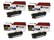 Laser Tek Services® 4 Pack Canon 131 Replacement Toner Cartridges (6272B001AA, 6271B001AA, 6270B001AA, 6269B001AA)