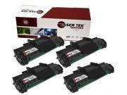 Laser Tek Services® 4 pack Dell 1100 (310-6640) Black Compatible Replacement Toner Cartridges