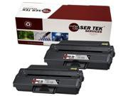 Laser Tek Services® 2 pack Dell B1260 (331-7328) Black Compatible Replacement Toner Cartridges