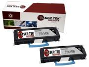 Laser Tek Services® 2 pack Dell 1700 (310-5400) Black Compatible Replacement Toner Cartridges
