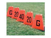 Pro-Down Flag Football Sideline Markers 5Pc Set