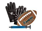 Franklin Grip-Rite Jr. Ball And Receiver's Glove Set