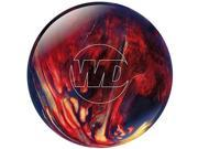 Columbia White Dot  Bowling Ball Scarlet/Gold/Black 9 Lbs