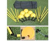 Sport Supply Indoor/Outdoor Agility Pole System