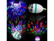 E27 3W Colorful Rotating Voice-activated RGB LED Party DJ Disco Stage Light Bulb Sound-activated