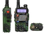 Green BaoFeng *UV-5R AX+* UV 5R AX+ Dual-Band 136-174/400-480 MHz FM Ham Two-way Radio, Improved Stronger Case, More Rich and Enhanced Features (NEWEST May 2013 Enhanced Version) Green