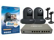 Foscam Elite FI8910E Indoor Power Over Ethernet Bundle Pack