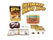 Ultimate Dinosaur Dig Kit - 3 Real Dino Fossils and T-Rex Skeleton!