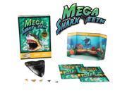 Mega Shark Teeth Science Kit!  Includes Megalodon Tooth Replica!