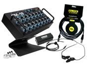 Elite Core PM-16 Personal Mixer Bundle with EU-5X Earphones and accessories.