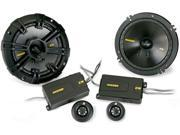 Kicker 11 ZX350.4 + 40CSS674 4-Ch Amplifier with Speakers