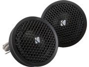 "Kicker 41KST254 1"" Silk Dome Tweeters"