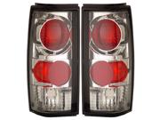 91-93 GMC Sonoma Tail Lights Chrome Lamps