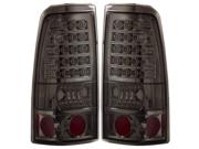 99-02 Chevy Silverado 2500 LED Tail Lights All Smoke