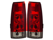 92-99 GMC Yukon Tail Lights Red/Clear New Lamps