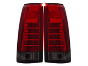 88-98 Chevy Pick Up C/K 2500 LED Tail Lights Red/Smoke Lamps
