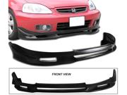 99-00 Honda Civic Ek Jdm 2 Js Style Polyurethane Front Bumper Lip Spoiler Bodykit Urethane
