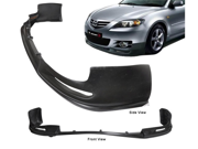 04-06 Mazda 3 S-Type Front Bumper Lip Spoiler Urethane Bodykit