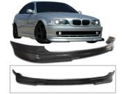 99-06 Bmw 3-Series 2dr Polyurethane Front Bumper Lip Spoiler