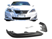 09-12 Lexus Is250 Is350 Carbon Fiber Front Bumper Lip Spoiler Splitter