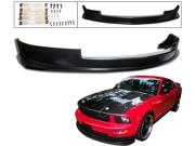 05-09 Ford Mustang V6 Front Bumper Lip Spoiler Bodykit
