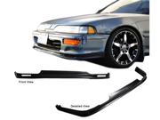 92-93 Acura Integra Mu Style Polyurethan Front Bumper Lip Spoiler
