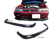 90-93 Honda Accord Type-S Real Carbon Fiber Front Bumper Lip Spoiler