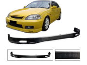 96-98 Honda Civic Ek Ek9 Spoon Real Carbon Fiber Front Bumper Lip Spoiler Cf
