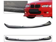 99-04 Bmw 3-Series 4dr Sedan Carbon Fiber Front Bumper Lip Spoiler Bodykit