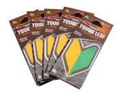 YOUNG LEAF NEW CAR PAPER FRESHENER AIR FRESHENER