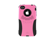 Pink Black Original Trident Aegis Hard Case Silicone W Screen Protector For At&t Verizon Iphone 4