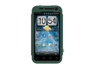 Green Black OEM Trident Kraken AMS Hard Silicone Case Cover W Screen Protector & Belt-clip, KKN2-EVO-3D-BG For HTC EVO 3D