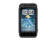Black OEM Trident Kraken AMS Hard Silicone Case Cover W Screen Protector, Kickstand, & Belt-clip, KKN2-EVO-3D-BK For HTC EVO 3D