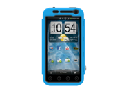 BLue BLack OEM Trident Kraken AMS Hard Silicone Case Cover W Screen Protector & Belt-clip, KKN2-EVO-3D-BL For HTC EVO 3D
