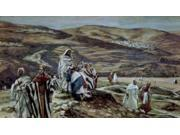 Christ Sending Out the Seventy Disciples Two by Two, James Tissot (1836-1902 French) Poster Print (18 x 24)