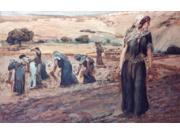 Ruth Gleaning, James Tissot (1836-1902 French), Jewish Museum, New York, USA Poster Print (18 x 24)