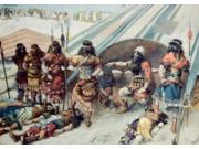Joshua and the Five Kings, James Tissot  (1836-1902 French), Jewish Museum, New York City Poster Print (18 x 24)