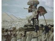 Pharaoh Notes the Importance of the Jewish People, James J. Tissot (1836-1902 French), Jewish Museum, New York Poster