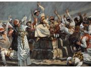 The Prophets of Baal Leap Upon the Altar, James Tissot (1836-1902 French), Jewish Museum, New York Poster Print (18 x